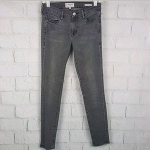 FRAME Denim Size 27 Le Skinny De Jeanne gray